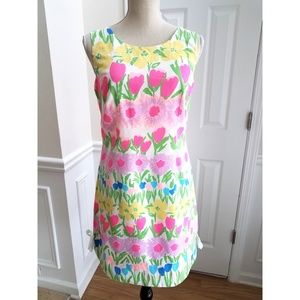 Lilly Pulitzer Delia Shift Dress in Floral Print